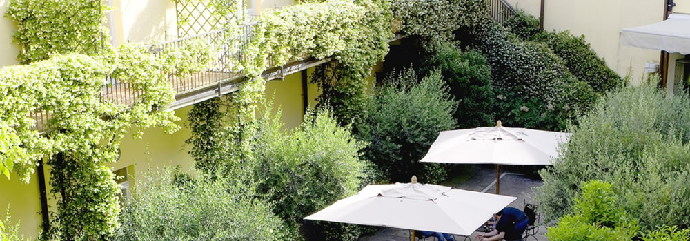 Hotels in Rome with garden