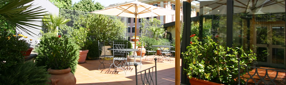 Rome hotel with Terrace