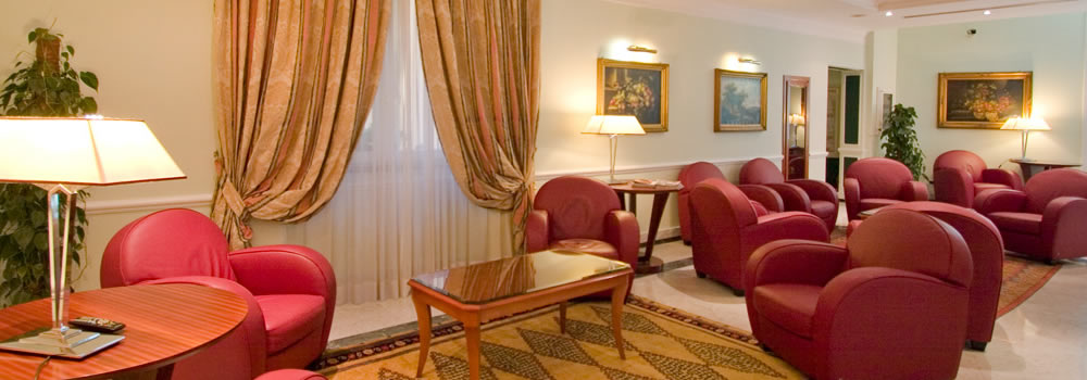 4 star Hotel Rome, relaxation room with Elegant