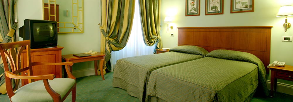 Rome hotel rooms with terrace